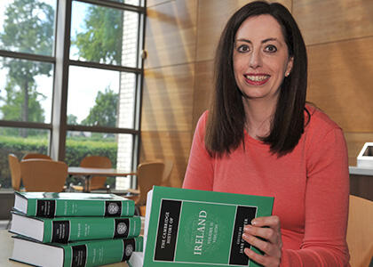 Work By DkIT Lecturer To Feature in Foremost Irish History Anthology: The Cambridge History of Ireland