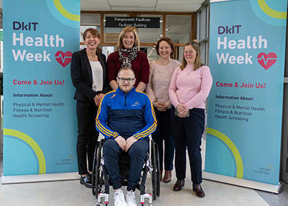 DkIT Health Week 2020 Shines Light on the Importance of Health & Wellbeing for Students