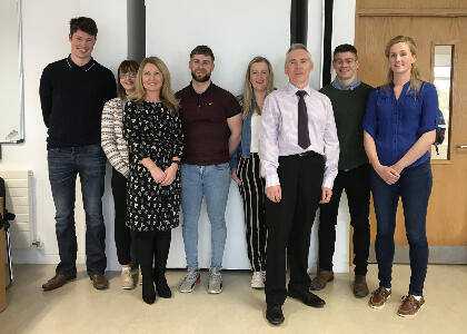 DkIT Final Year Agriculture Students Host Innovative Round Table Discussion
