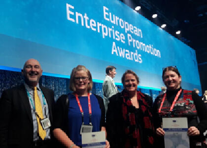 DkIT Lecturer Selected as National Winner at Enterprise Promotion Awards 2019