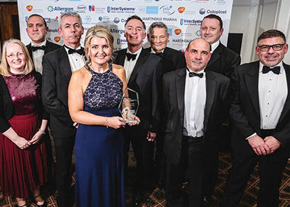 BREATH is Named Asthma/ COPD Project of the Year at NI Healthcare Awards 2018
