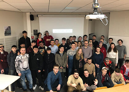 DkIT Computing students travel to France for Coding Challenge