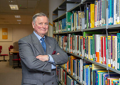 DkIT Names Library In Honour of General John De Chastelain