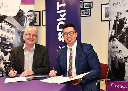 DkIT Expands EU Education Partnerships via MOU with Film School Network