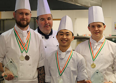 DkIT Culinary Arts Students Strike Gold At Chef Ireland Culinary Championships