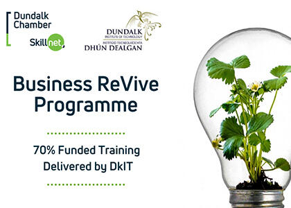 DkIT Partners with Dundalk Chamber Skillnet to Provide New Business Training Support Programme