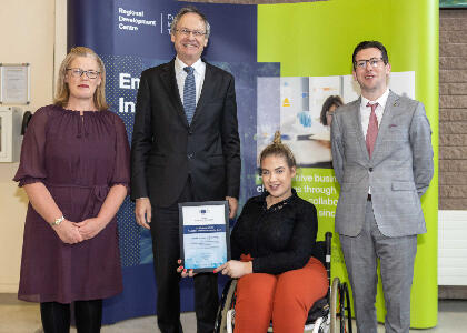 DkIT Secures Major EU Award for Enterprise Promotion