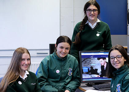 Dundalk Students Participate in DkIT Entrepreneurship School Week