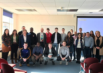 Success at the DkIT Entrepreneurial Lecture Series 2018/19