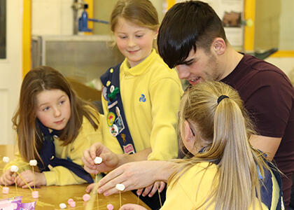 DkIT Hosts 'Guiding Girls into Engineering' workshop, part of this year's Engineers Week