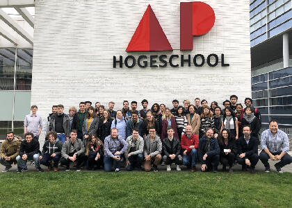 DkIT Games Development Students travel to Antwerp on EU project