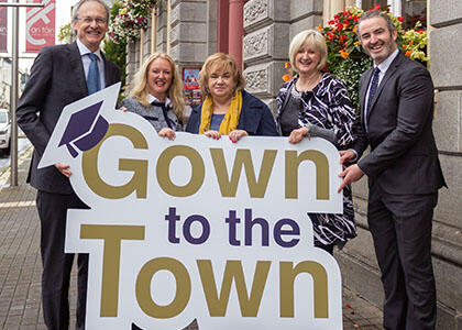 DkIT Brings the 'Gown to the Town'