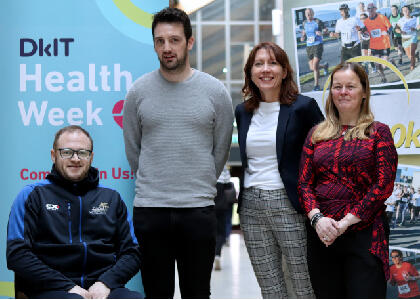 DkIT Raises Awareness of Health & Wellbeing at Health Fair 2019