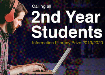 Information Literacy Prize 2019/2020 Now Open