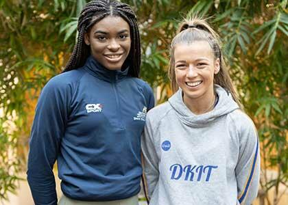 DkIT Students Fly the Flag for Excellence in Ladies Sport