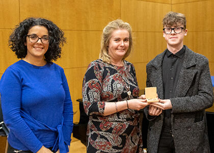DkIT Music Student Awarded Second Place In Higher Education Musicology Competition