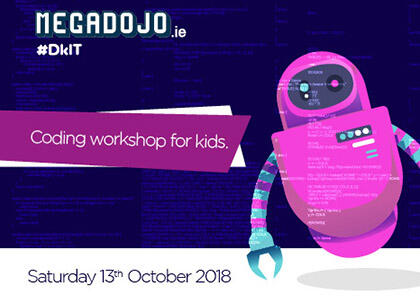 DkIT To Host Region's First Ever Free Coding MegaDojo For Young People