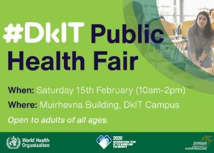DkIT To Organise a Public Health Fair To Celebrate Role Of Nurses & Midwives