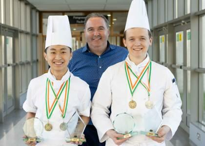 DkIT Culinary Arts students serve up gold at Chef Ireland 2020