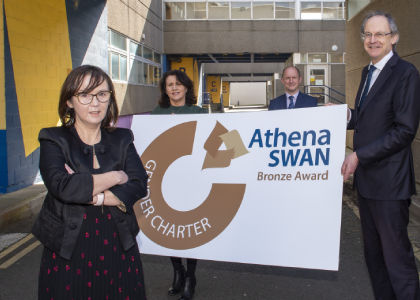 DkIT achieves Athena SWAN Bronze award for commitment to gender equality