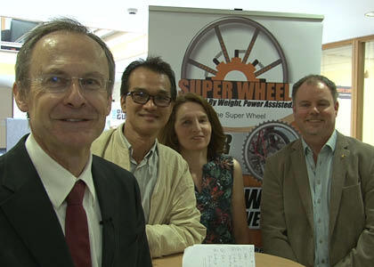 DkIT student entrepreneur hosts 'Super-Wheel' Pre-launch event
