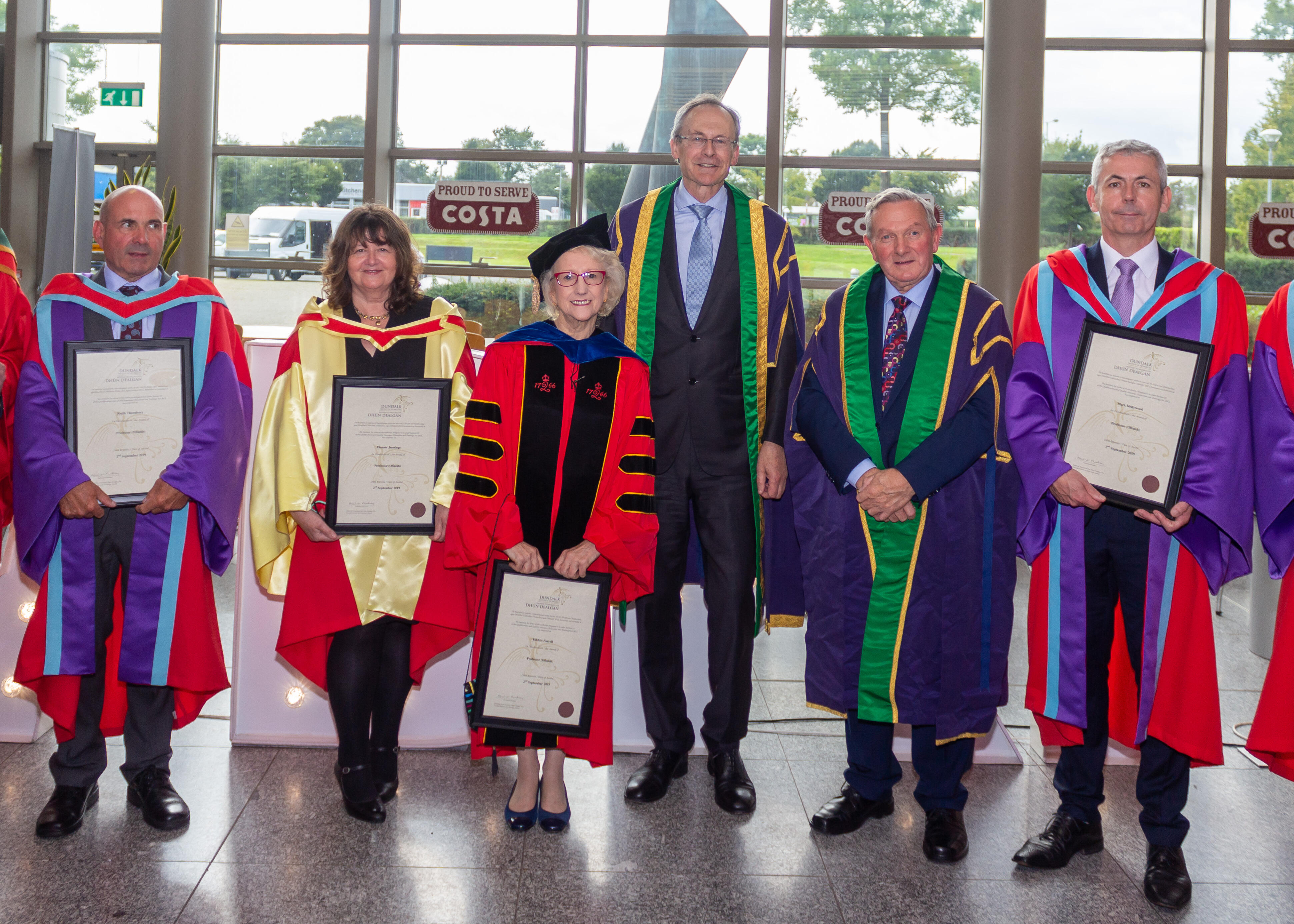 Six Dundalk IT Staff conferred with Professorships