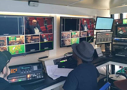 DkIT Film Students Produce Industry Standard Outside Broadcast