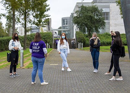 DkIT Welcomes Students Back to Campus for New Academic Year