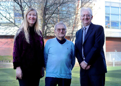 DkIT Welcomes Holocaust Survivor Tomi Reichental on Campus