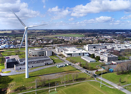DkIT Prioritises Green Future with Major Wind Turbine Refurbishment