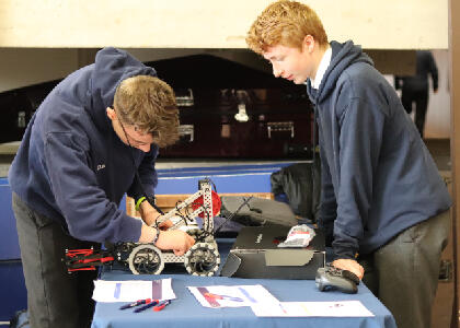 DkIT Hosts VEX Robotics Final for Secondary Students