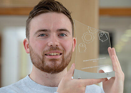 DkIT Engineering Student Scoops Major Prize at the National Student Entrepreneurship Awards 2018