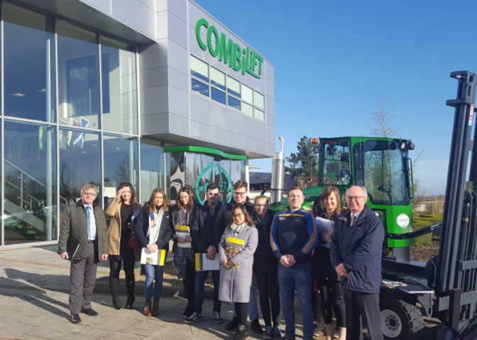 DkIT Marketing Students Go Global with Combilift Ltd