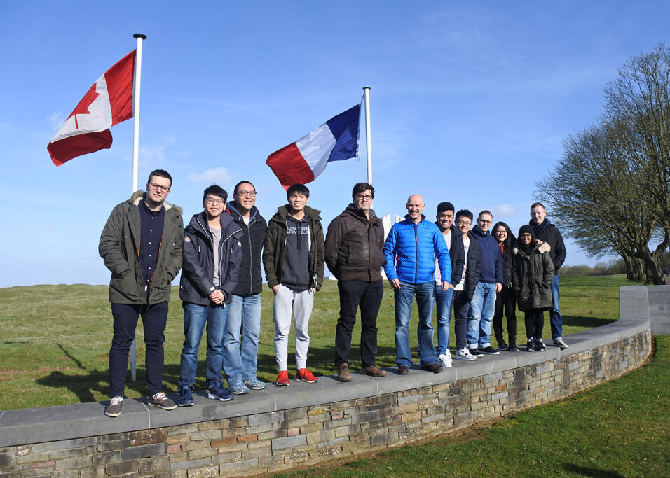 DkIT Computing Students on International Project in France
