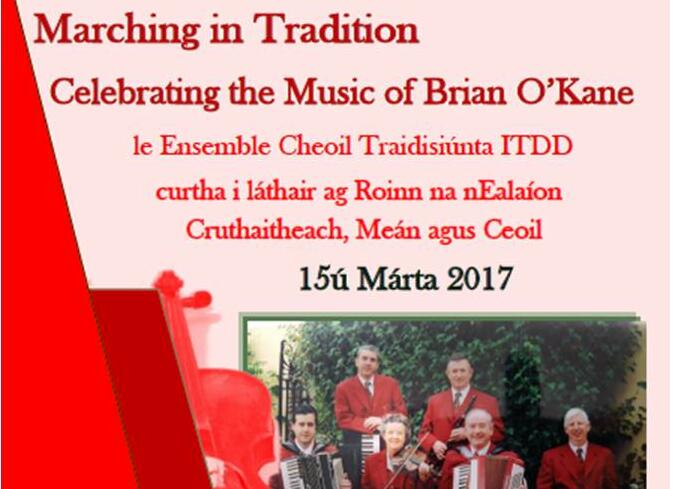 Concert celebrating the Music of Brian O'Kane