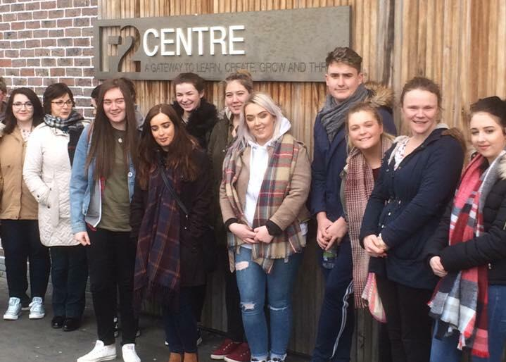 DkIT Students Visit the Rialto Community Youth Project