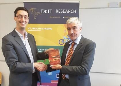 Dublin launch of DkIT lecturer's new book 'Interactive Narratives and Media Storytelling'