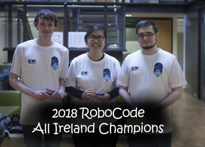 DkIT Games Students Claim All-Ireland RoboCode Title for a 3rd Time