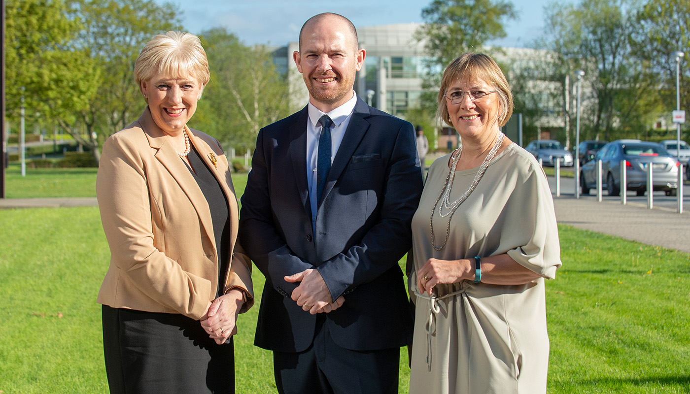 Minister Heather Humphreys, TD, Aidan Brown, Head of Innovation & Business Development at DkIT and Julie Sinnamon, CEO of Enterprise pictured at the launch of the new ABP-DkIT Corporate Partnership