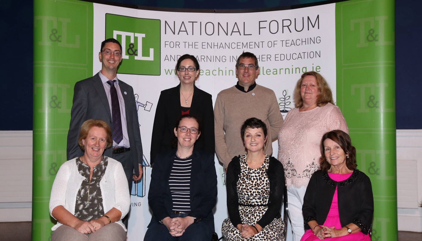 DkIT Teachers and Researchers Meitheal participants receive recognition for engagement with the national Professional Development Framework