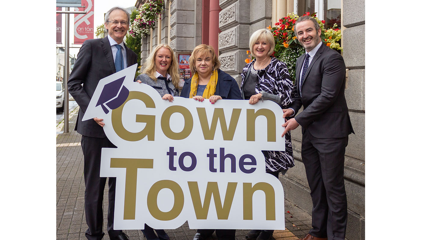 DkIT Brings the Gown to the Town