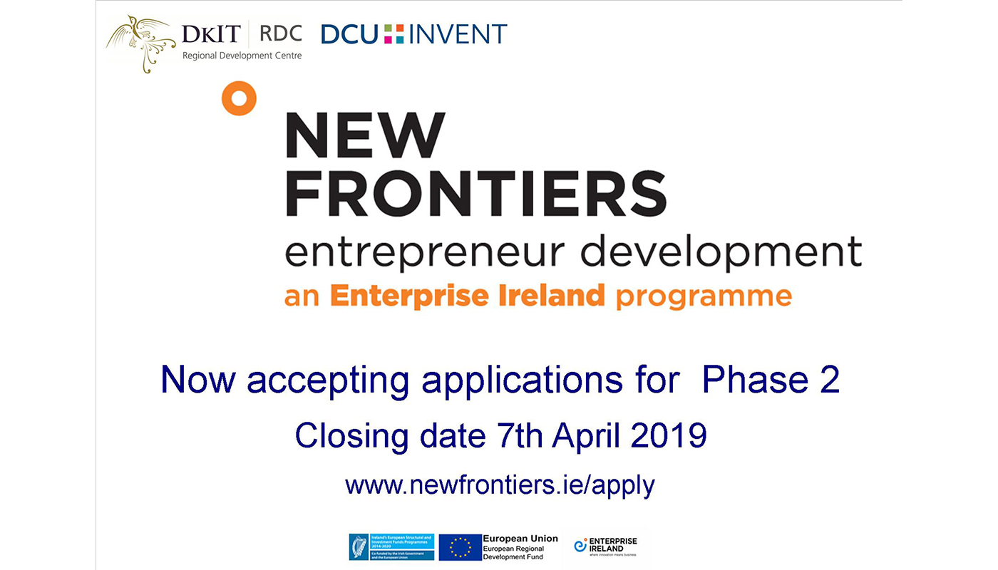 Phase 2 of New Frontiers - Applications now open