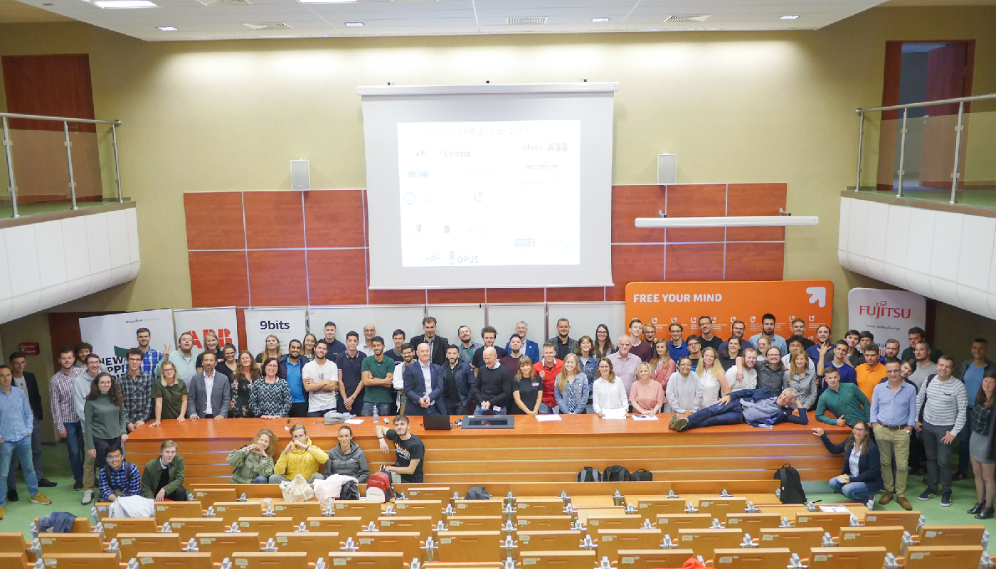 Participants of the GGULIVRR project at Univeristy of Lodz, Poland