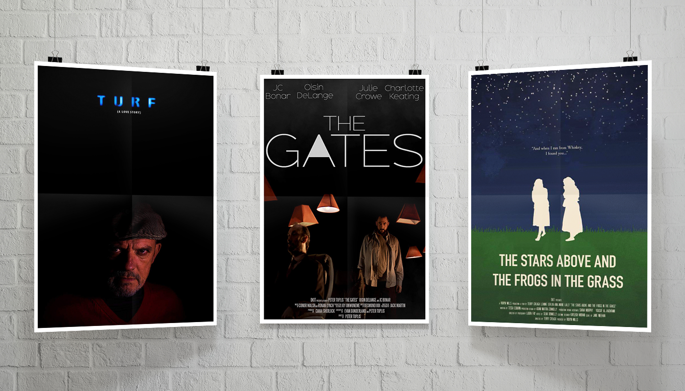 DkIT Film Shorts - 'Turf', 'The Gates' and 'The Starts Above and The Frogs in the Grass'