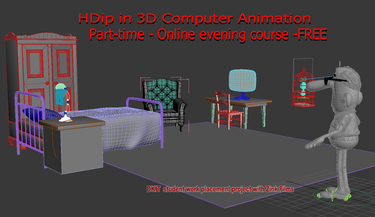 Free Online Part Time 3d Animation Course Dundalk
