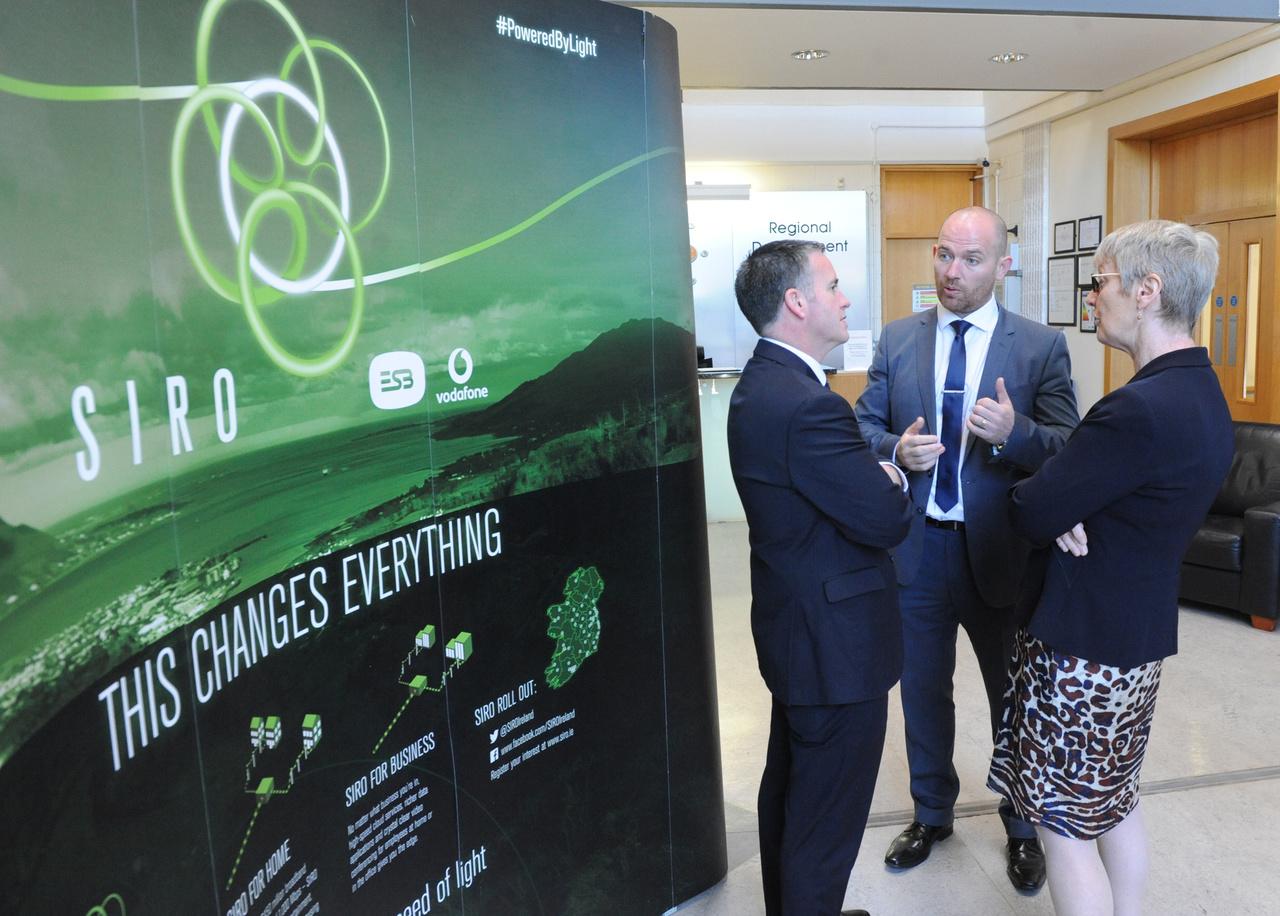 Minister Damien English unveils DkIT's Regional ...