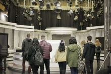 Third Year Film and TV Students Class Trip to RTE
