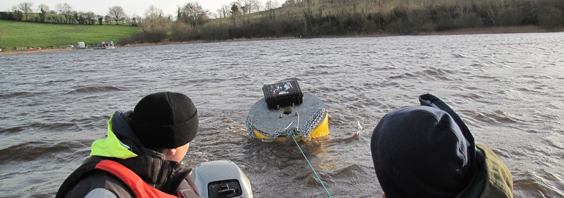 Mooring a buoy